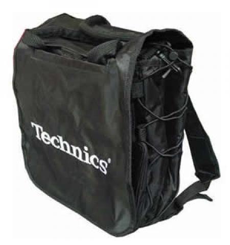 Bag Para Vinil Techinics para 25 Discos!! Preta!!