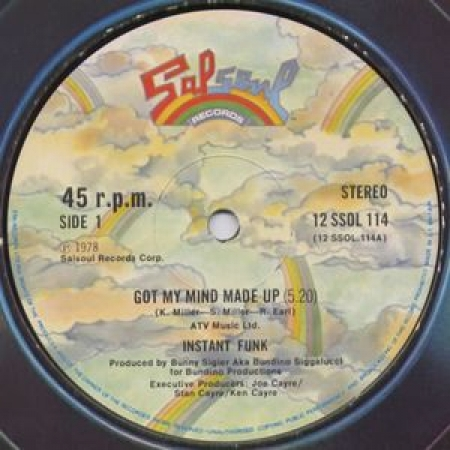 Instant Funk-I Got My Mind Made Up