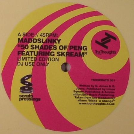Vinyl Time Coded Serato-Amarelo