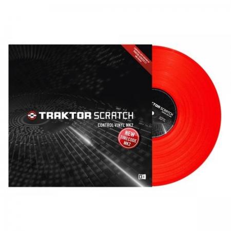 Disco Vinyl Traktor- VERMELHO