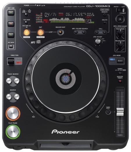Cdj Pioneer 1000 MK3- SEMI NOVO (O PAR )
