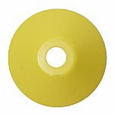 Adaptador de Plastico Para Compacto-Cor Amarela