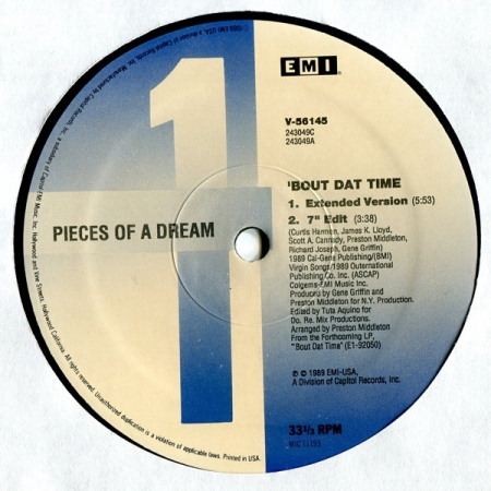 Pieces Of Dream-Bout Dat Time