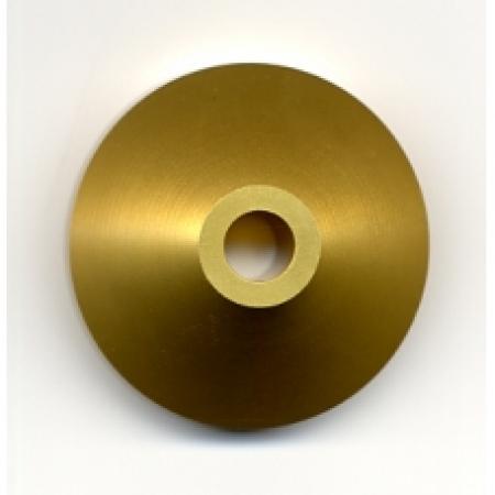 Adaptador de Metal Para Compacto-Cor Dourada