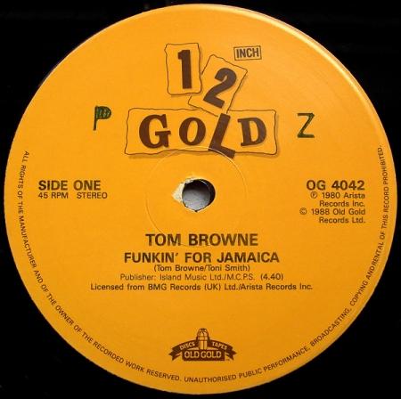 Tom Browne - Funkin'For Jamaica