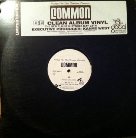 Commom - Be (Clean Album)