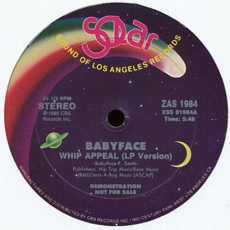 Babyface - Whip Appeal