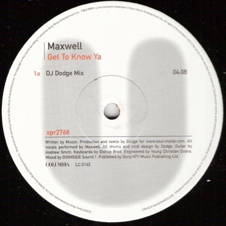 Maxwell – Get To Know Ya