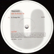 Maxwell ‎– Get To Know Ya