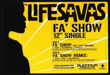 Lifesavas – Fa' Show