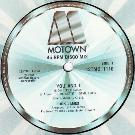 Rick James – You And I