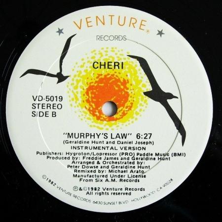 Cheri - Murphi's Law