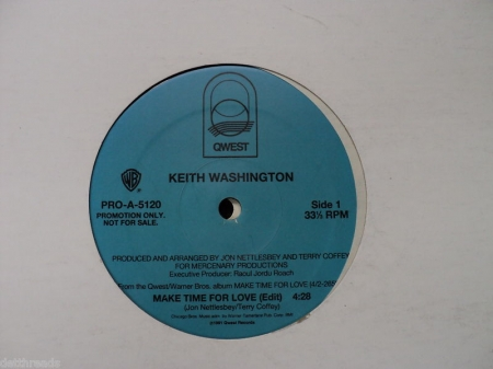 Keith Washington ?– Make Time For Love