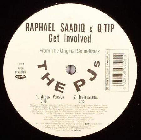 Raphael Saadiq & Q-Tip – Get Involved