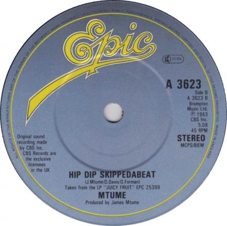 Mtume -  Hip Dip Skippedabeat / Green Light