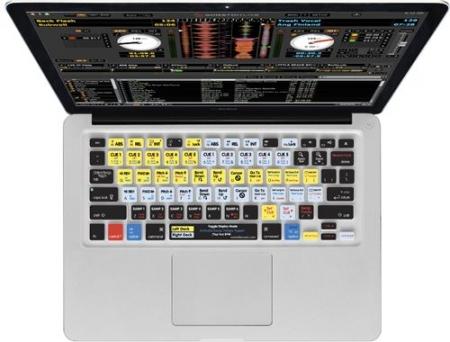 Capa de teclado Serato Scratch Live Para MacBook