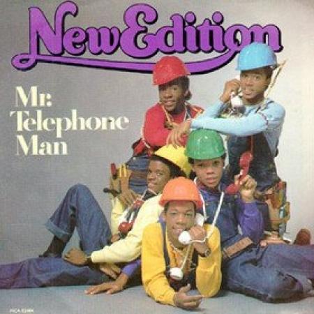 New Edition - Mr Telephone Man
