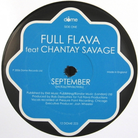 Full Flava - September feat Chantay Savage
