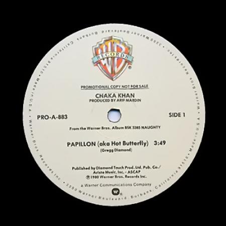 Chaka Khan - Papillon (aka Hot Butterfly) / Too Much Love