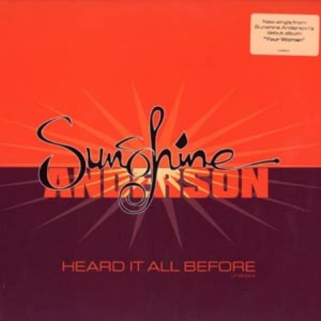 Sunshine Anderson ‎– Heard It All Before