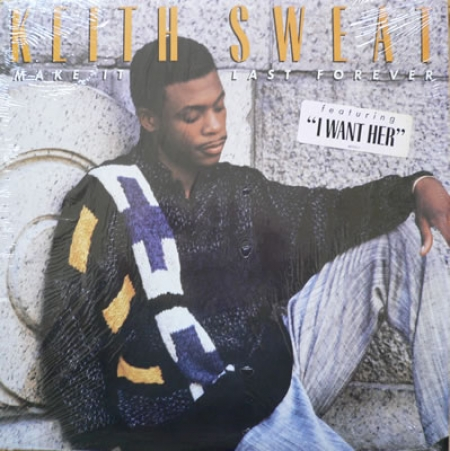Keith Sweat ‎– Make It Last Forever