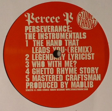 Percee P - Perseverance The Instrumentals