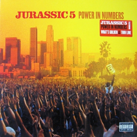 Jurassic 5 - Power In Numbers ( CAPA 3D )