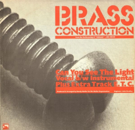 Brass Construction - Can You See The Light
