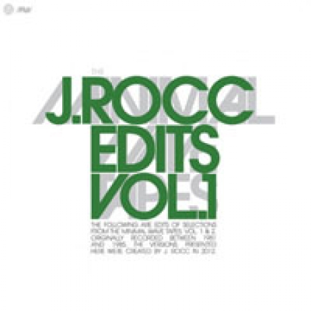 J. Rocc - The Minimal Wave Tapes: J. Rocc Edits Volume 1