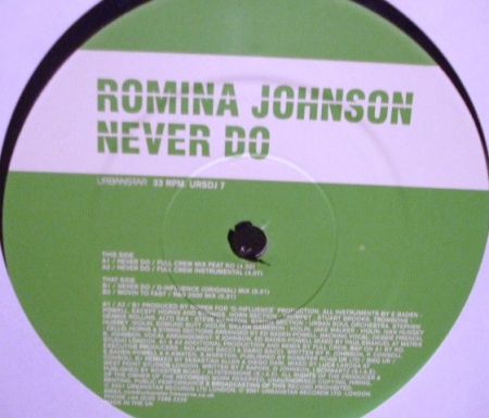 Romina Johnson - Never Do