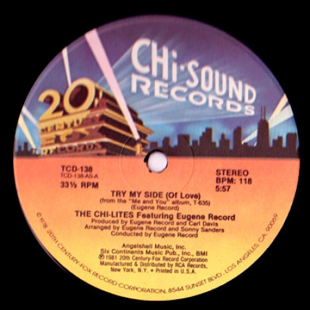 Chi-Lites - Try My Side (Of Love)