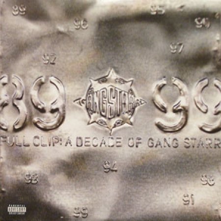 Gang Starr - Full Clip: A Decade Of Gang Starr (Capa Usada)