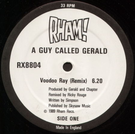 A Guy Called Gerald ‎– Voodoo Ray (Remix)