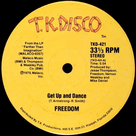 Freedom ‎– Get Up And Dance