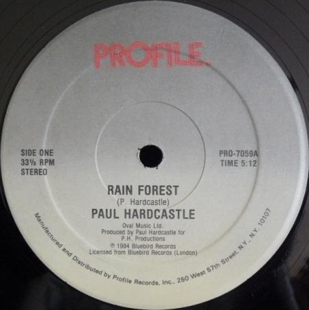 Paul Hardcastle - Rain Forest / Sound Chaser