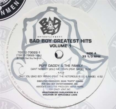 Bad Boy Greatest Hits Volume 1