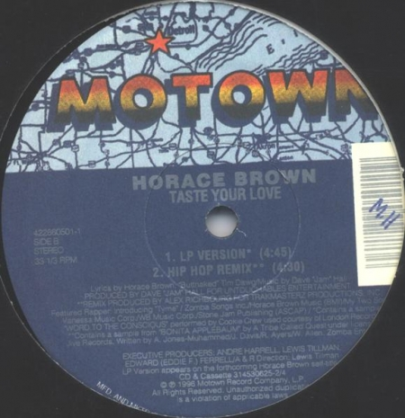 Horace Brown – One For The Money / Taste Your Love