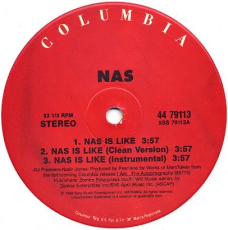 Nas - Nas Is Like / Dr. Knockboots