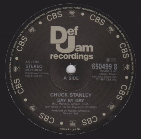 Chuck Stanley - Day By Day