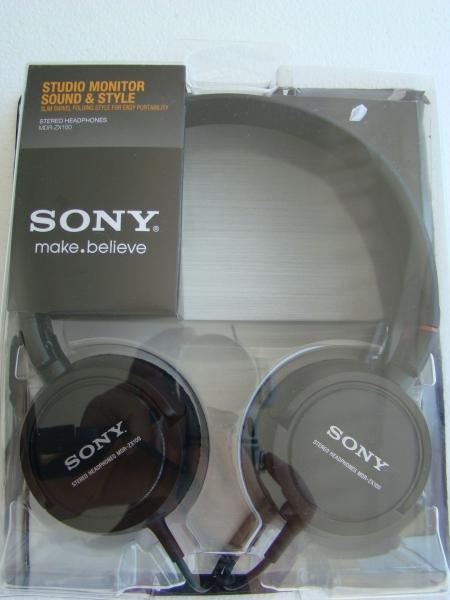 Fone de Ouvido Sony MDR-ZX 100