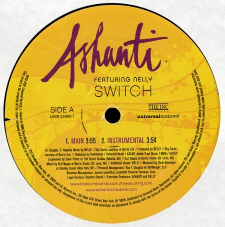 Ashanti Featuring Nelly - Switch