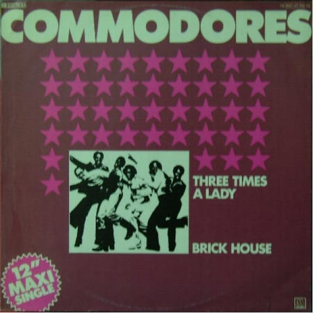Commodores - Three Times A Lady / Brick House