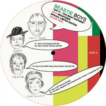 Beastie Boys - Say It / Too Many Rappers