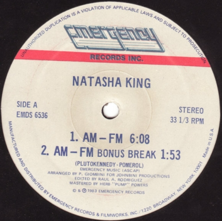 Natasha King - AM-FM