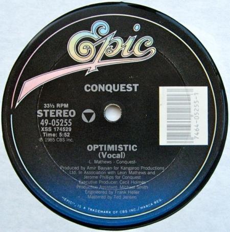 Conquest - Optimistic