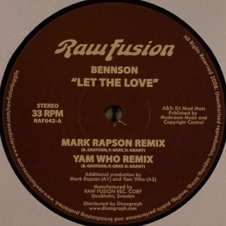 Bennson - Let The Love
