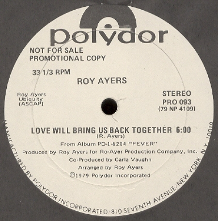 Roy Ayers - Love Will Bring Us Back Together (Original Pressing)
