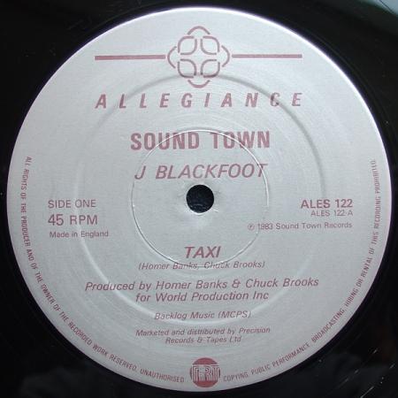 J Blackfoot – Taxi