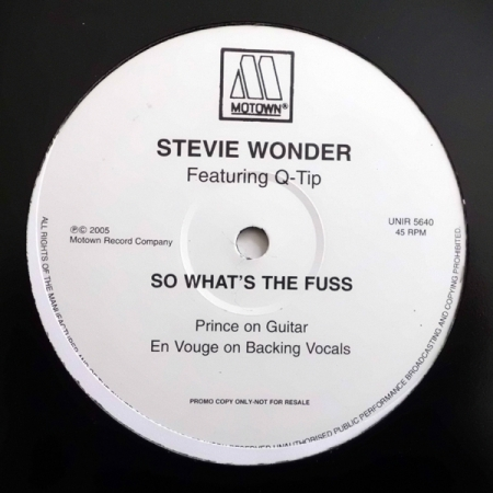 Stevie Wonder - So What's The Fuss