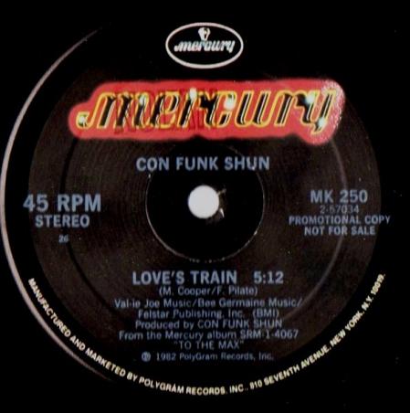 Con Funk Shun - Love's Train / You Are The One